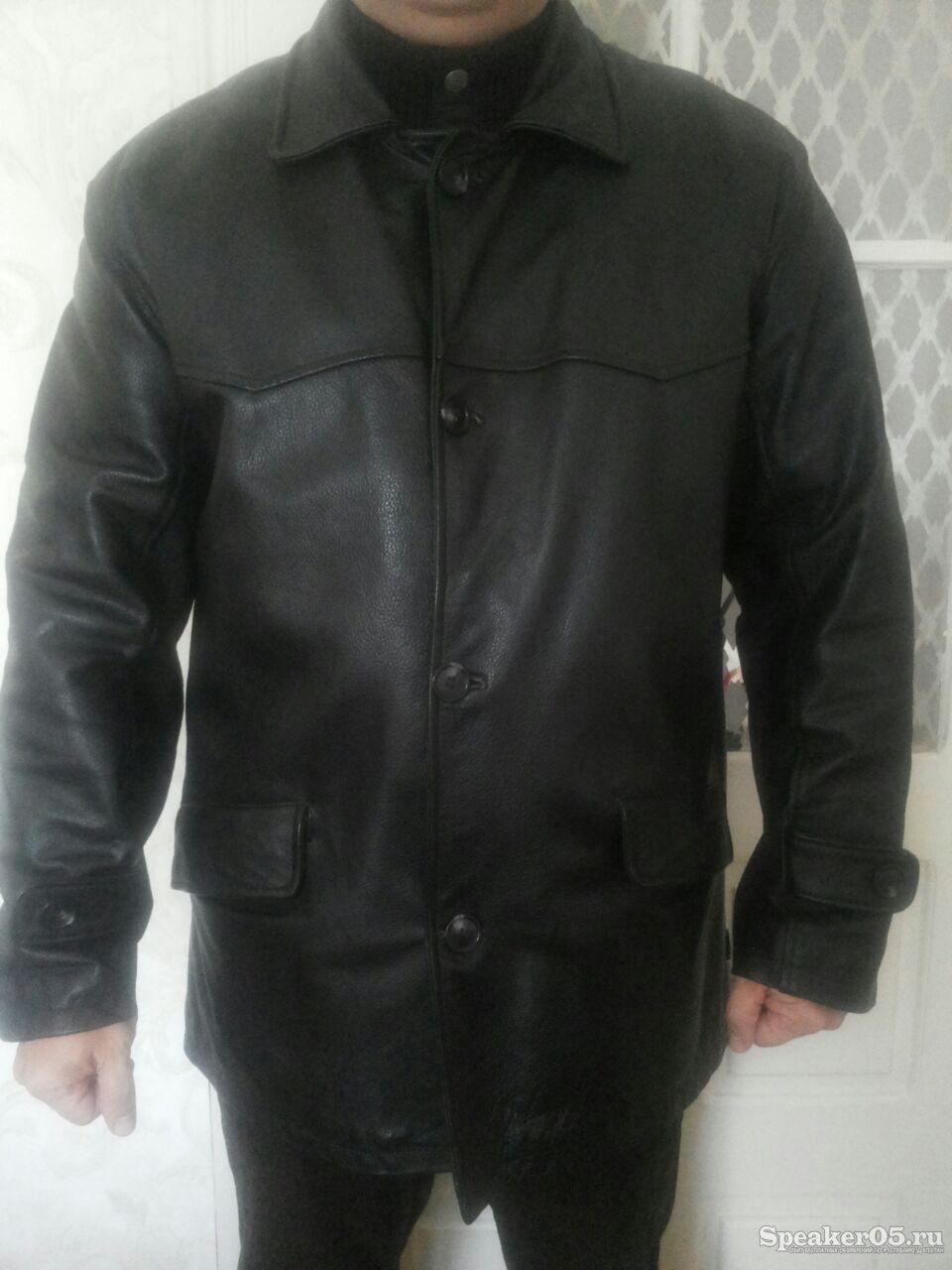 Кожаная утепленная куртка 6900 руб. 17.02.2015 | Махачкала | Продажа - Бытовые товары/Одежда, обувь, текстиль