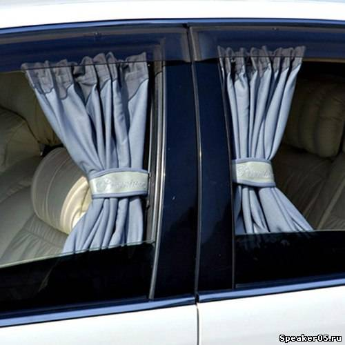 Шторки своими руками в авто