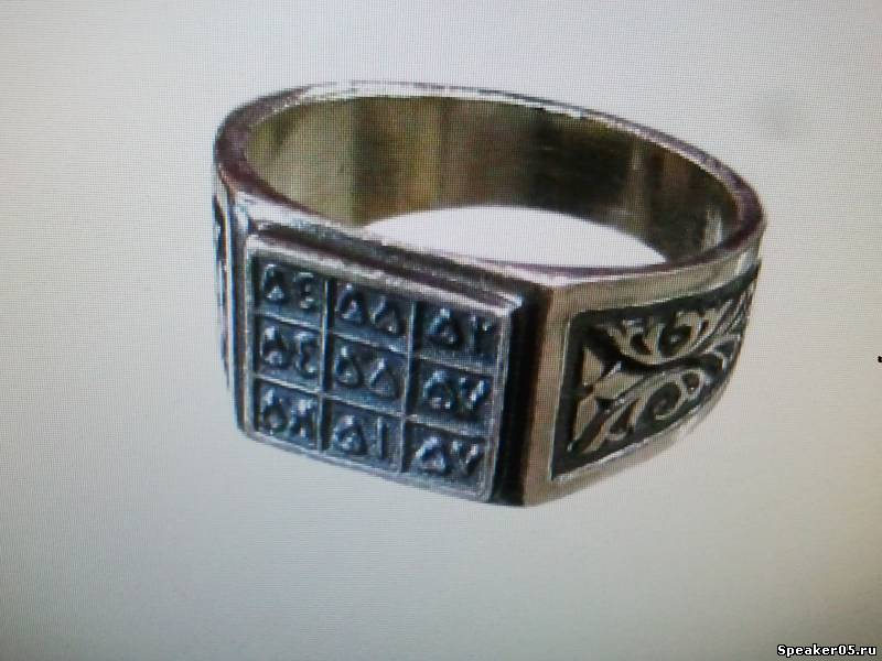 Ня картинки - мусульманские серебряные мужские кольца - Няшки